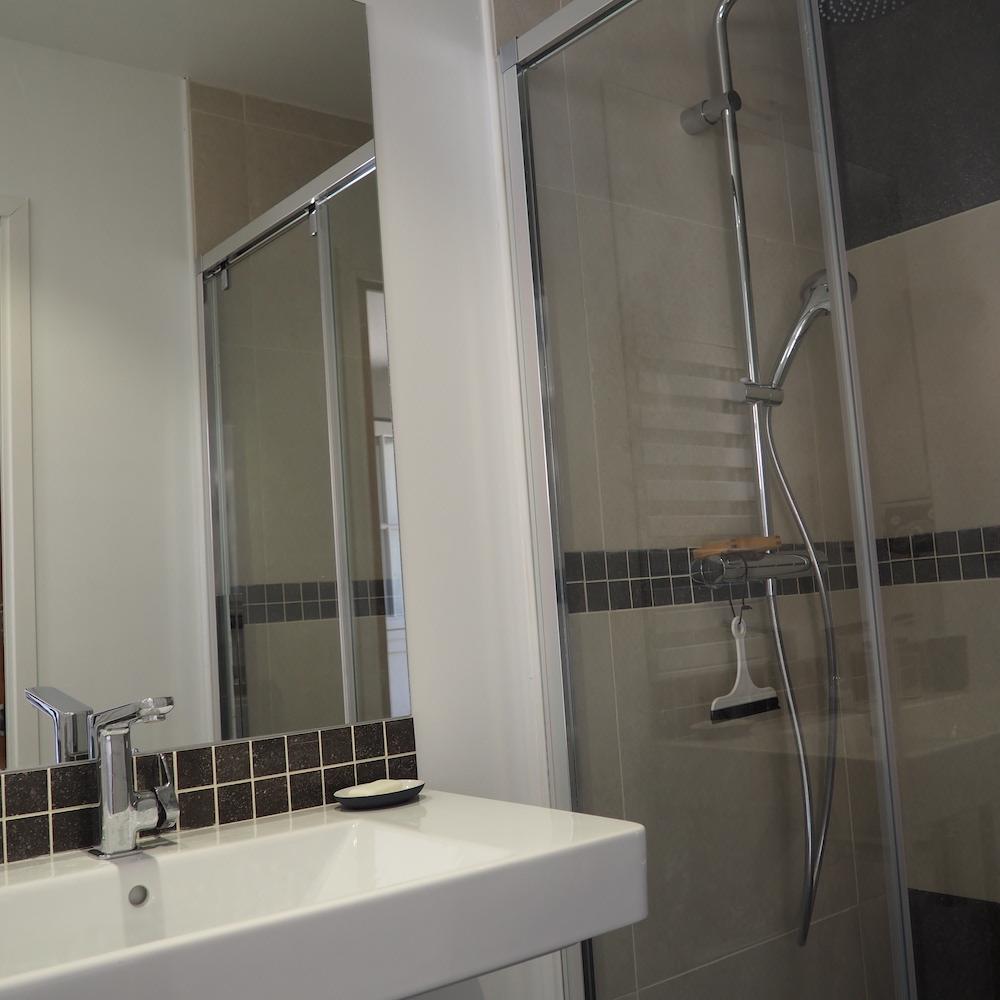 salle de bains petite ledge baie de somme plage gîte marquenterre