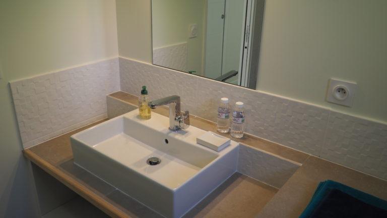salle de bain princesse ledge gîte baie de somme